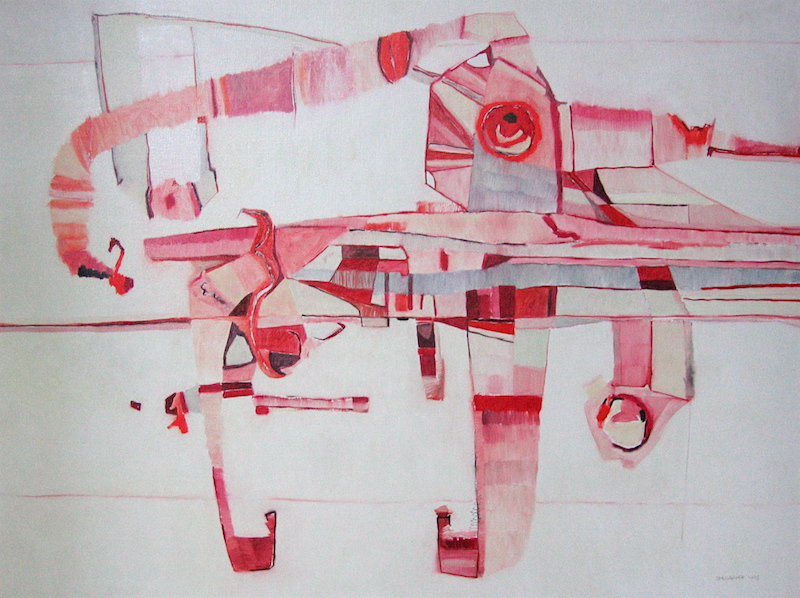 Jérémie Iordanoff, contemporary abstract painting