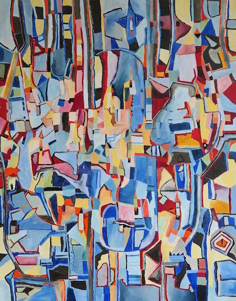 Art abstrait peinture 248 iordanoff artiste peintre for Artiste art abstrait