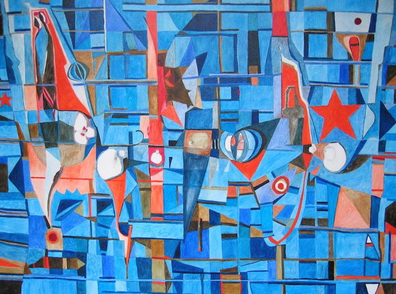 Art abstrait peinture 289 iordanoff artiste peintre for Artiste art abstrait