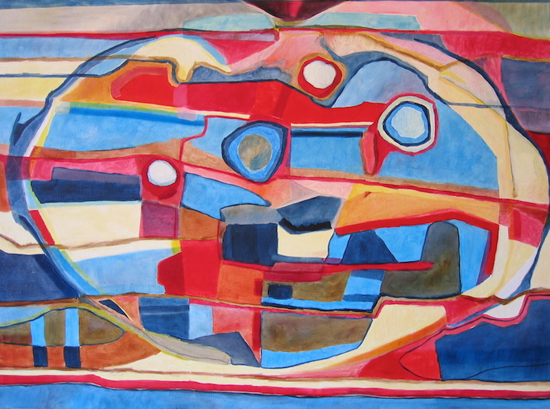 Peinture abstraite observation par iordanoff artiste peintre for Artiste art abstrait