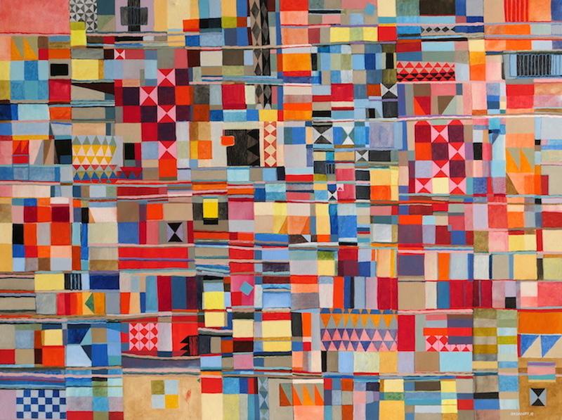 Abstract Art Painting 657 Iordanoff Abstract Artist