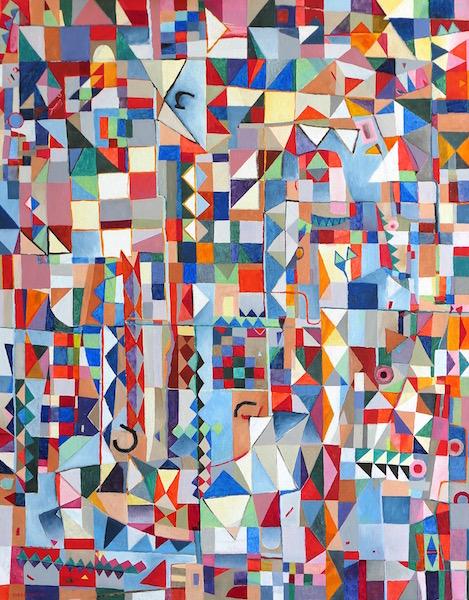 Abstract Art Painting 655 Iordanoff Abstract Artist